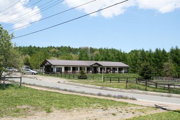 谷口牧場厩舎外観の写真